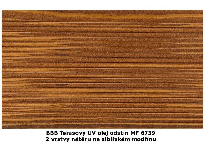 BBB 6739 Terasový UV olej 0,9 l