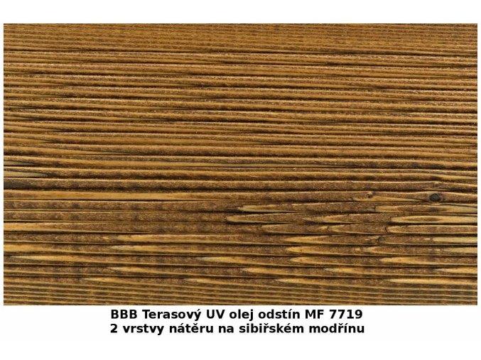 BBB 7719 Terasový UV olej 2,7 l