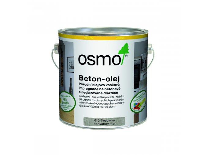 Beton olej č. 610 2,5 l