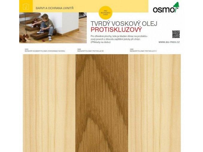 tablo tvrdy voskovy olej protiskluzovy