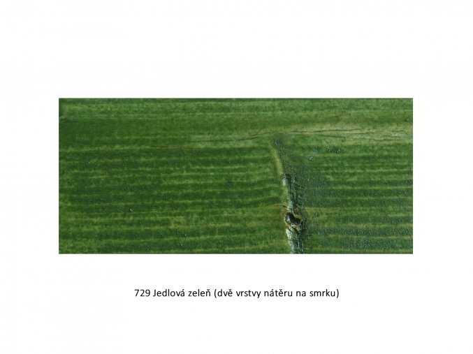 729 Jedlová zeleň
