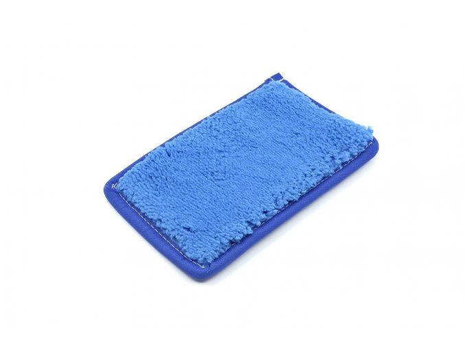 Nanášecí rouno (modré) na olejové barvy 95x155mm