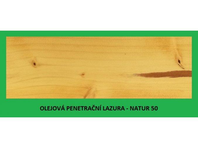 BBB olejová penetrační lazura 0,9 l Natur 50
