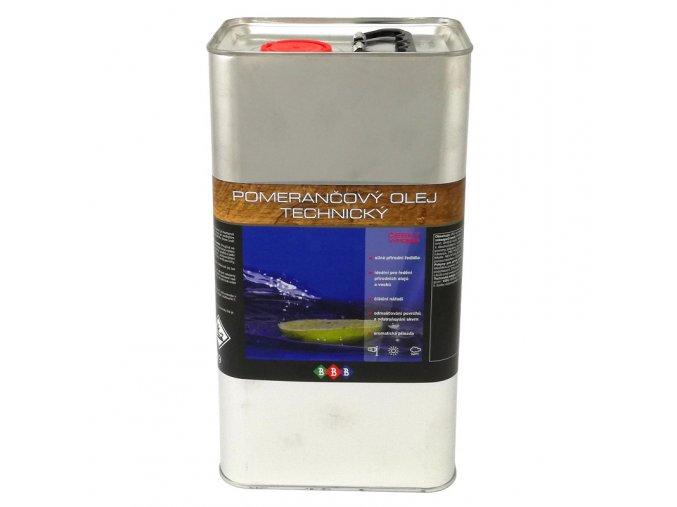 Pomerančový olej technický 4,5 L