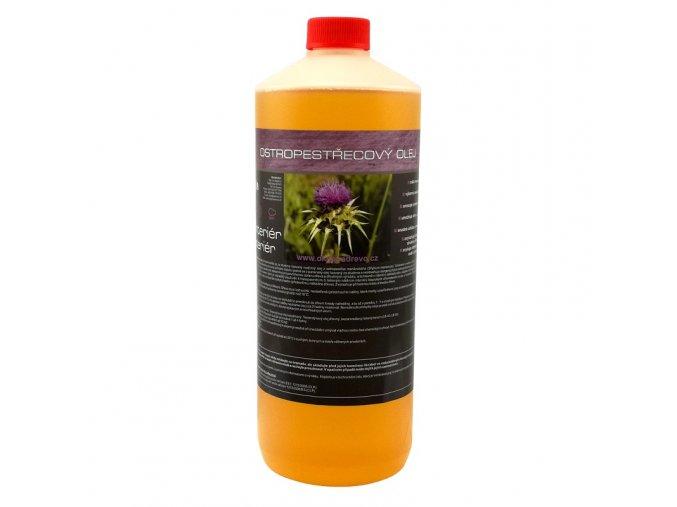 Ostropestřecový olej 1l