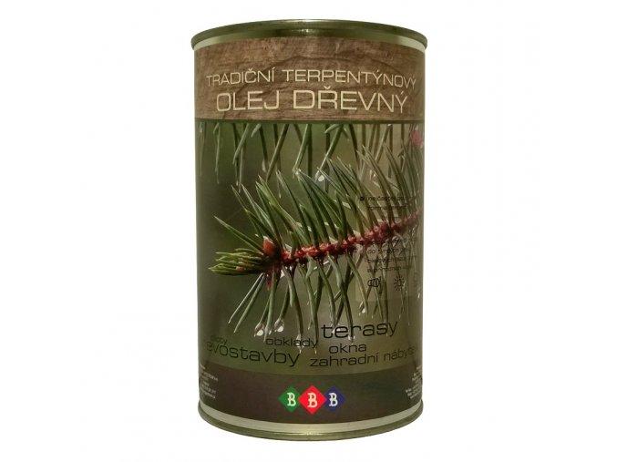 Terpentýnový olej dřevný 0,9lt