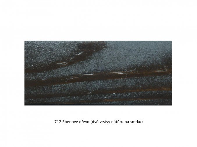 712 Ebenové dřevo