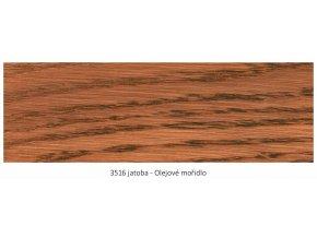 Osmo 3516 olejové mořidlo Jatoba 1 lt  + zdarma dárek v hodnotě 160 Kč - Anza Elite Flat Brush - štětec plochý 70 mm