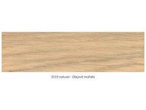 Osmo 3519 olejové mořidlo Natural 1 lt  + zdarma dárek v hodnotě 160 Kč - Anza Elite Flat Brush - štětec plochý 70 mm