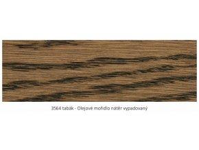 Osmo 3564 olejové mořidlo Tabák 1 lt  + zdarma dárek v hodnotě 160 Kč - Anza Elite Flat Brush - štětec plochý 70 mm