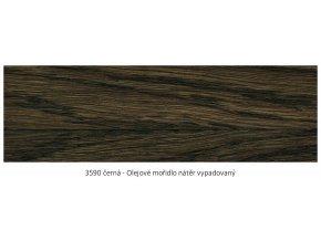 Osmo 3590 olejové mořidlo Černá 2,5 lt  + zdarma dárek v hodnotě 256 Kč -  váleček Anza Platinum Antex 18 cm / + Držadlo válečku Anza Elite 18 cm/+ malířská vanička Anza 18 cm