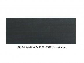 2716 Antracitově šedá