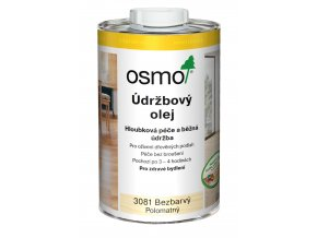 Údržbový olej 3081 polomat