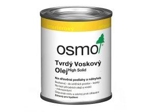 Osmo 3032 tvrdý voskový olej Original bezbarvý hedvábně polomatný 0,125 l