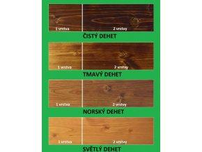 Vzorník dřevního téru