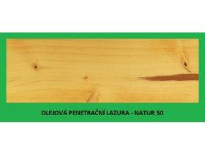 BBB olejová penetrační lazura 2,7 l Natur 50