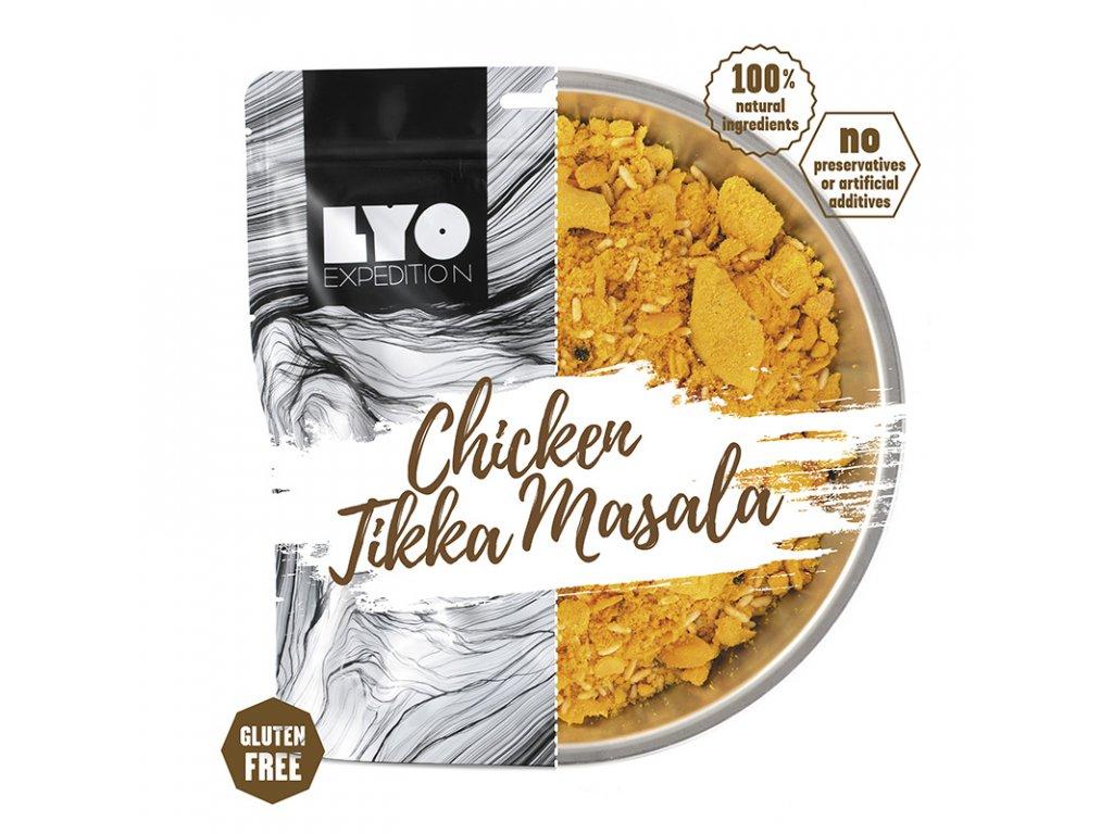 Kuřecí Tikka Masala; běžná porce