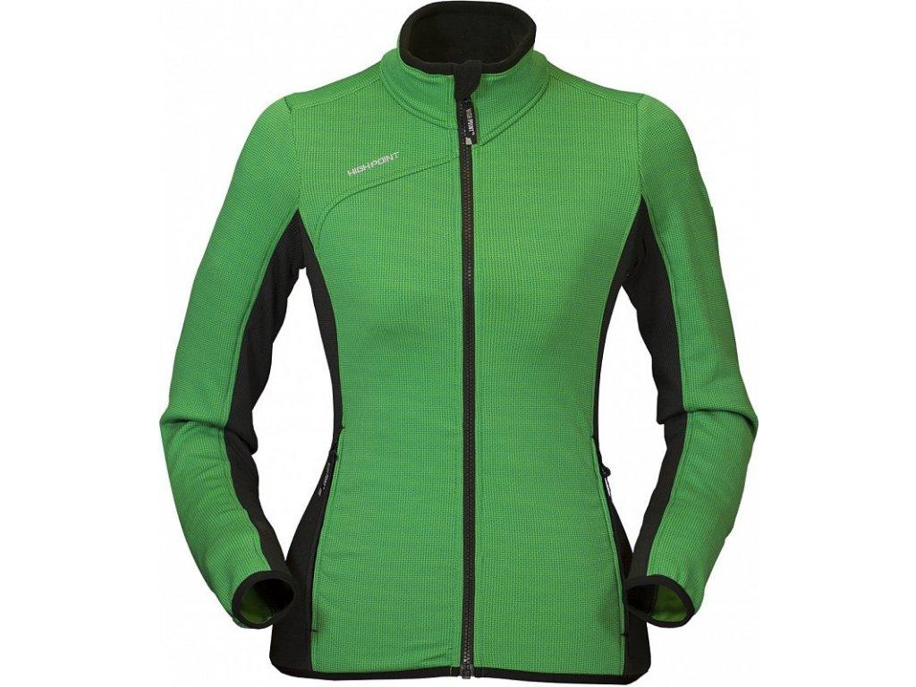 high point go 20 lady sweatshirt l green black 0 800 800