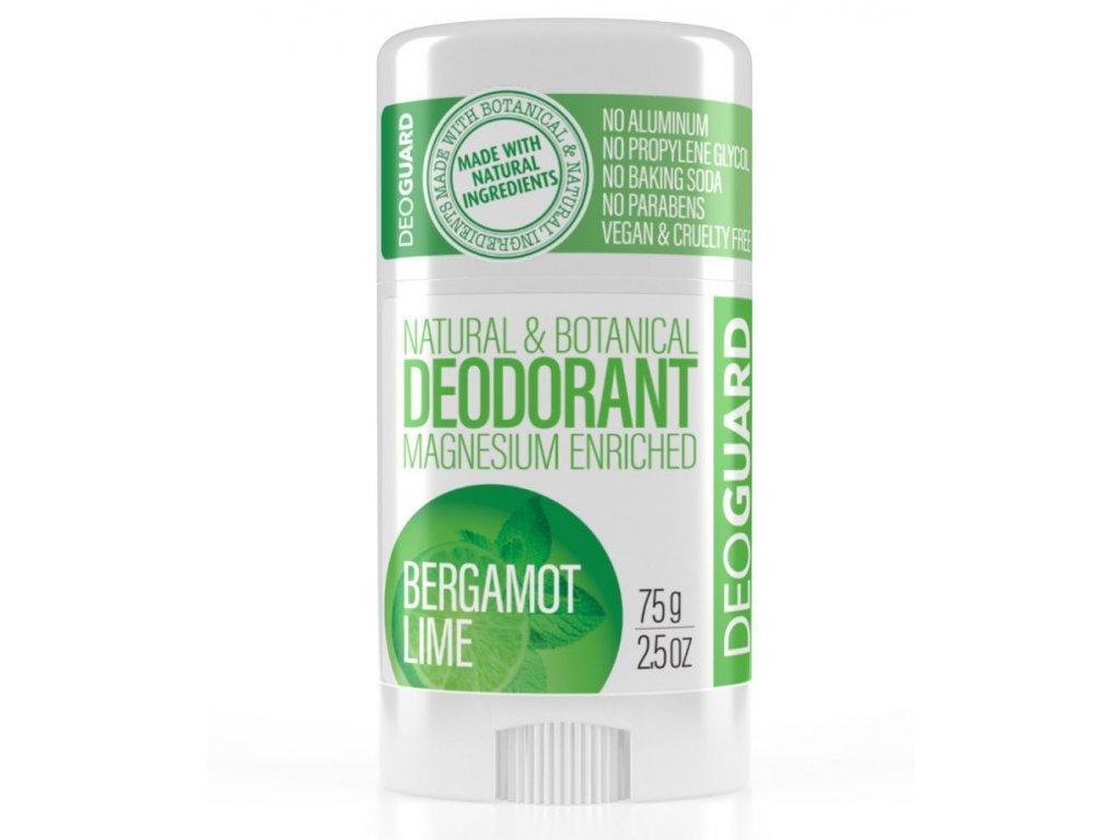 SPORTIQUE DEOGUARD deodorant bergamot a limetka