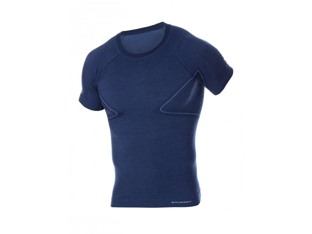 BRUBECK tričko Active wool man