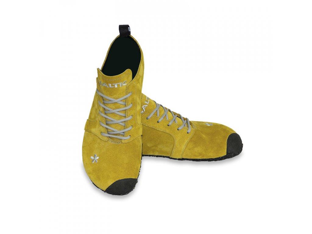 SALTIC bare-foot FURA žlutá