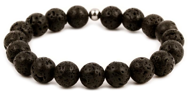 Náramky z lávových kamenů