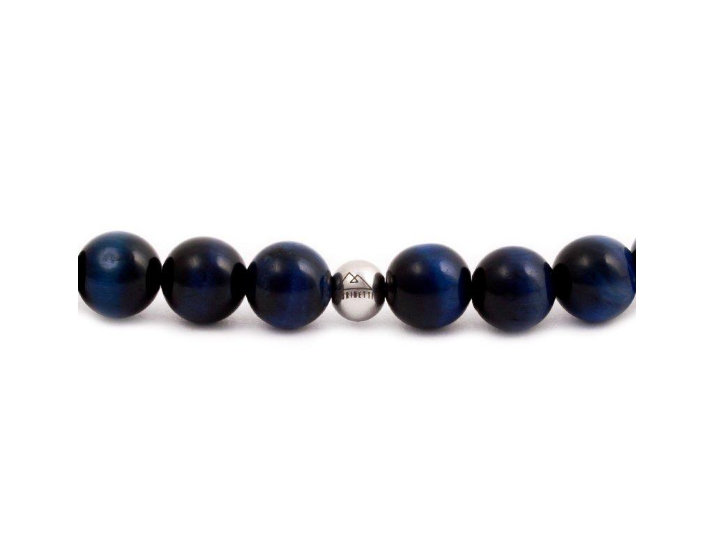 Pánský korálkový náramek - Lapis Lazuli AAA, korálek Morinetti