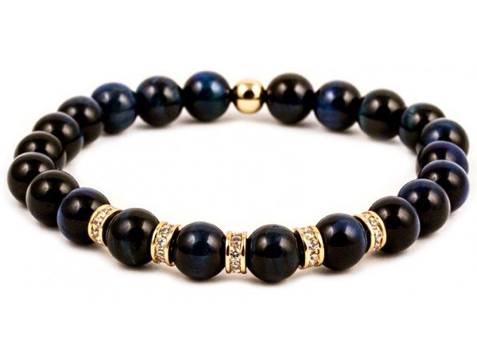 Pánský korálkový náramek ROYAL - Lapis Lazuli AAAA, korálek Morinetti
