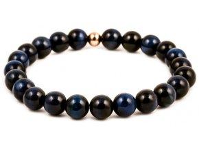 Dámský korálkový náramek - Lapis Lazuli AAA, korálek Morinetti