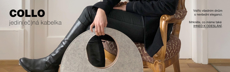 jedinečná kabelka COLLO