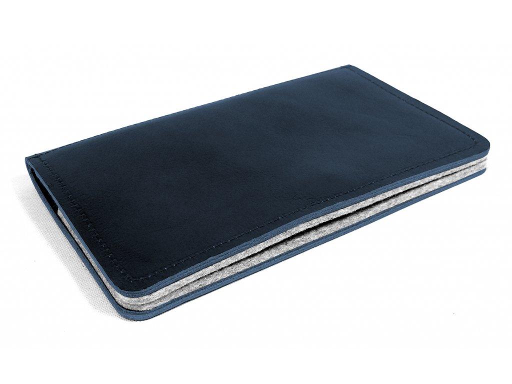 MANNY dark blue leather 1