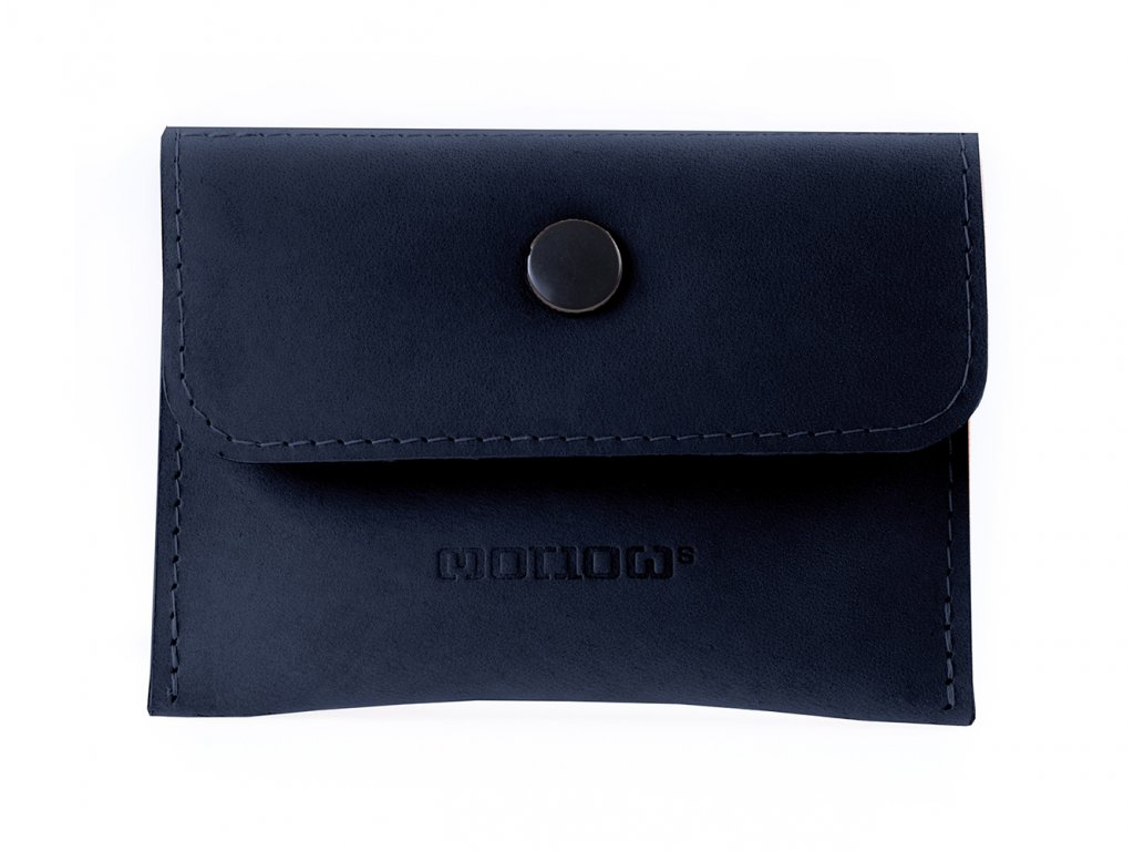 TOLLARY dark blue leather 1