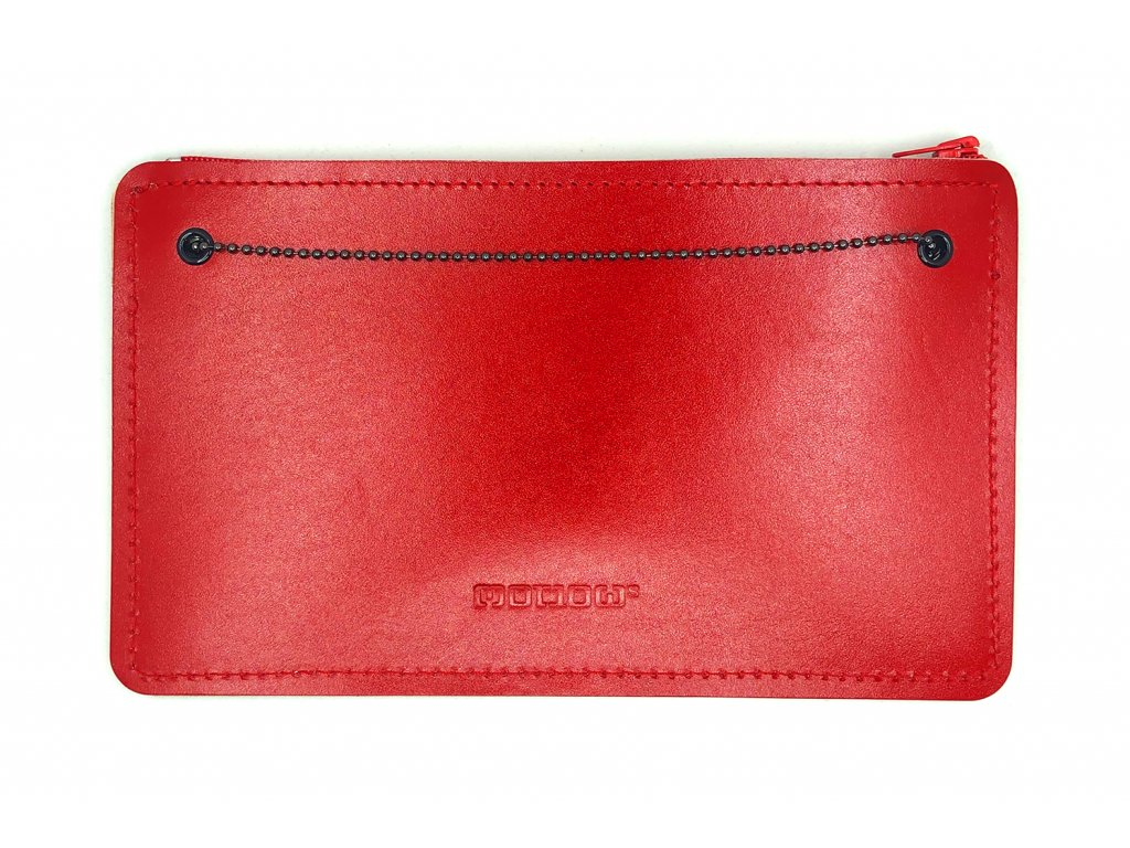 SMUCCI S long red leather 1