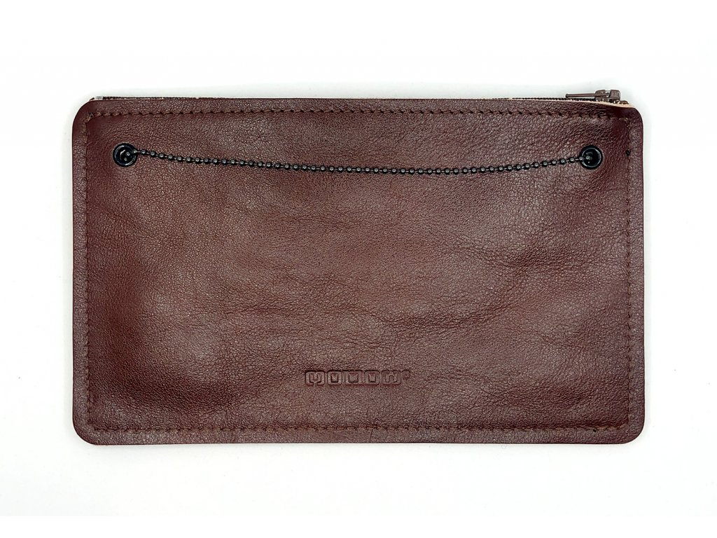 SMUCCI S long brown leather 1