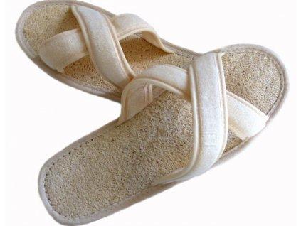 Masážní pantofle s lufou
