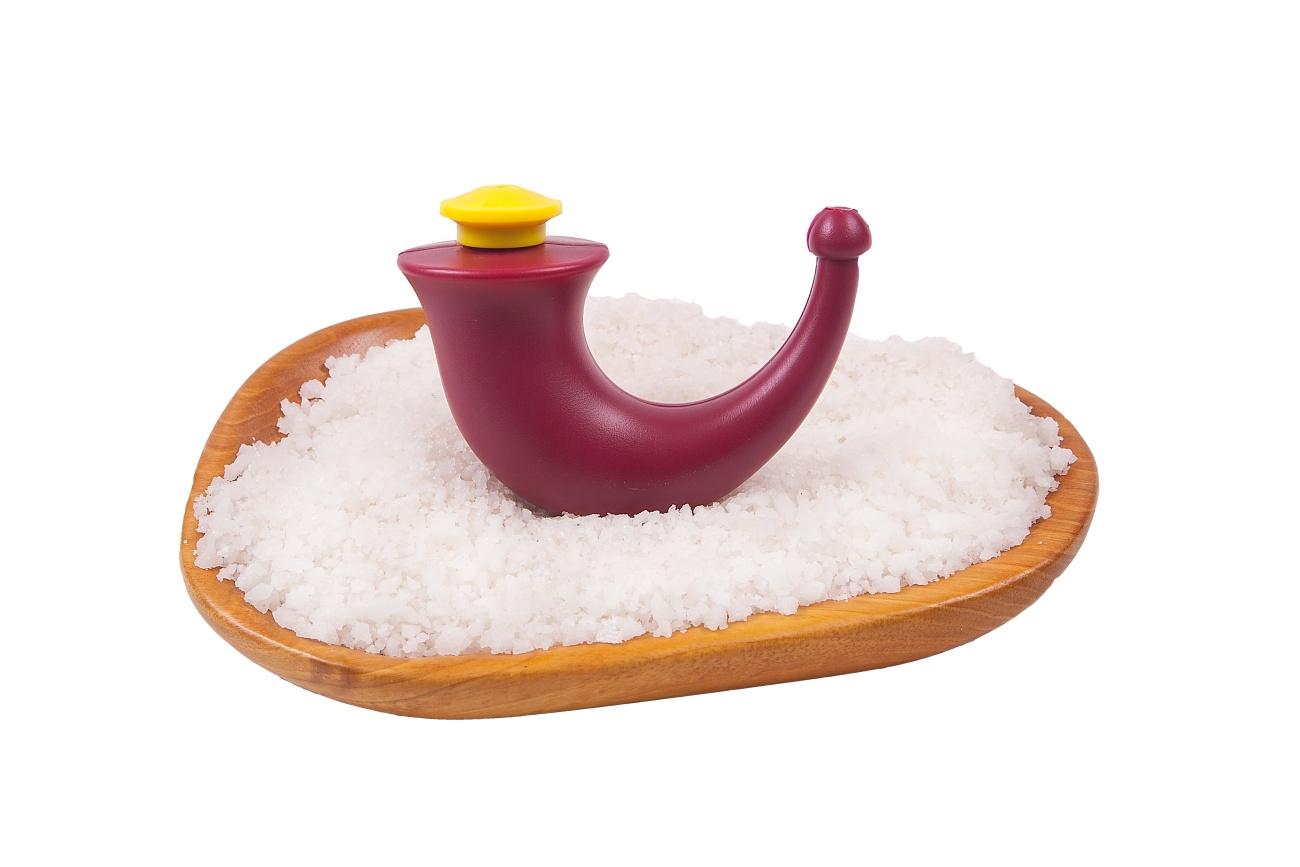Néti - výplach nosu solným roztokem