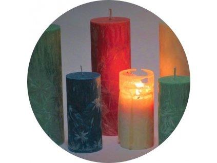 Energetizovaná meditační svíčka styl hygge