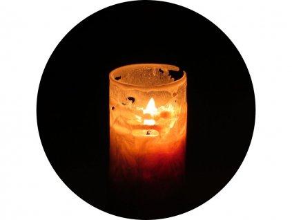 svíčka pro meditační koupele s mořskou solí Mar Menor
