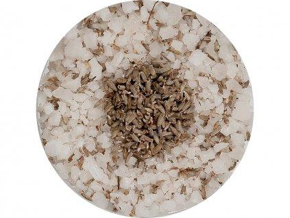 mořská koupelová sůl s levandulí proti stresu