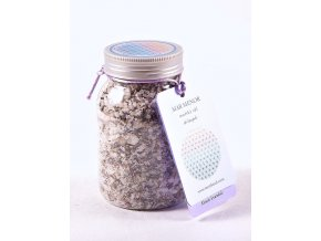 mořská sůl Mar Menor do koupele s květem levandule a esenciálními oleji dōTERRA®