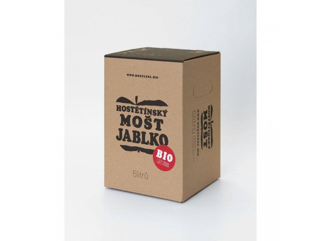 Hostětínský mošt JABLKO BIO bag-in-box 5l