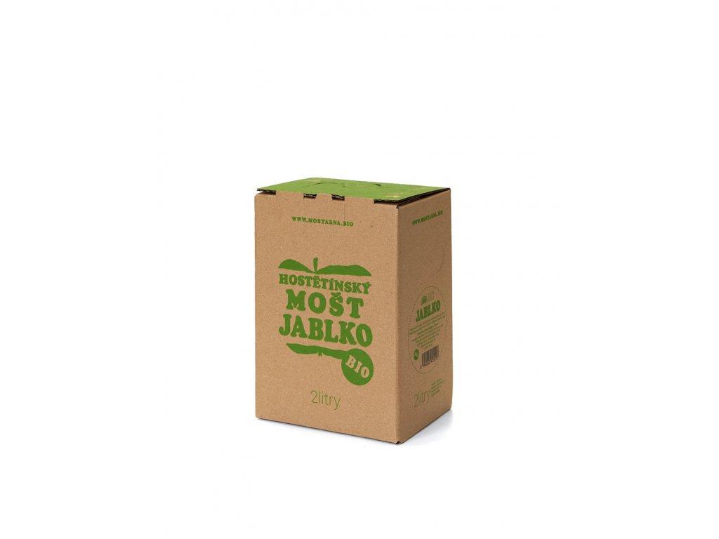 Hostětínský mošt JABLKO BIO bag-in-box 2l