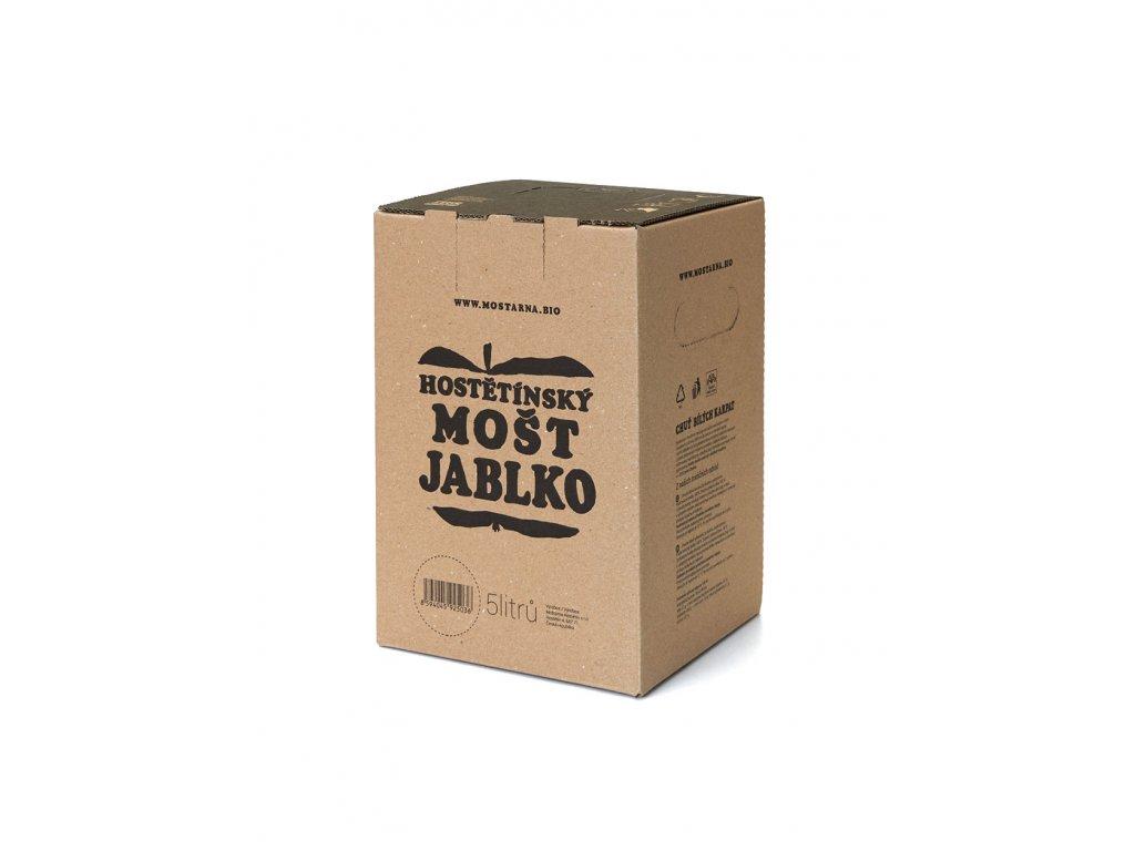 Hostětínský mošt Selský JABLKO bag-in-box 5l