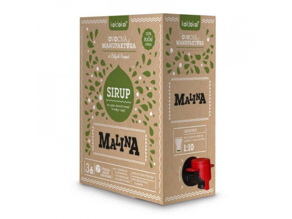 Koldokol sirup MALINA bag-in-box 3kg