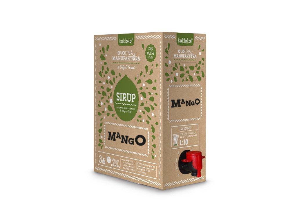 Koldokol sirup MANGO bag-in-box 3kg