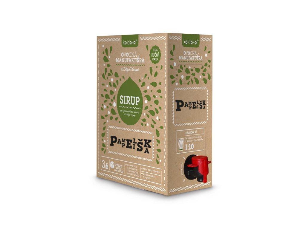 Koldokol sirup PAMPELIŠKA bag-in-box 3kg