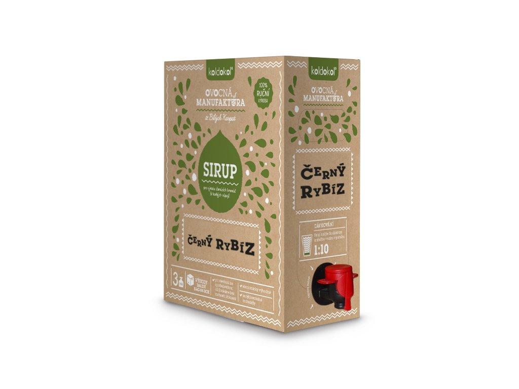 Koldokol sirup ČERNÝ RYBÍZ bag-in-box 3kg