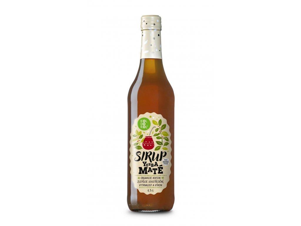 Koldokol sirup YERBA MATÉ bag-in-box 3kg