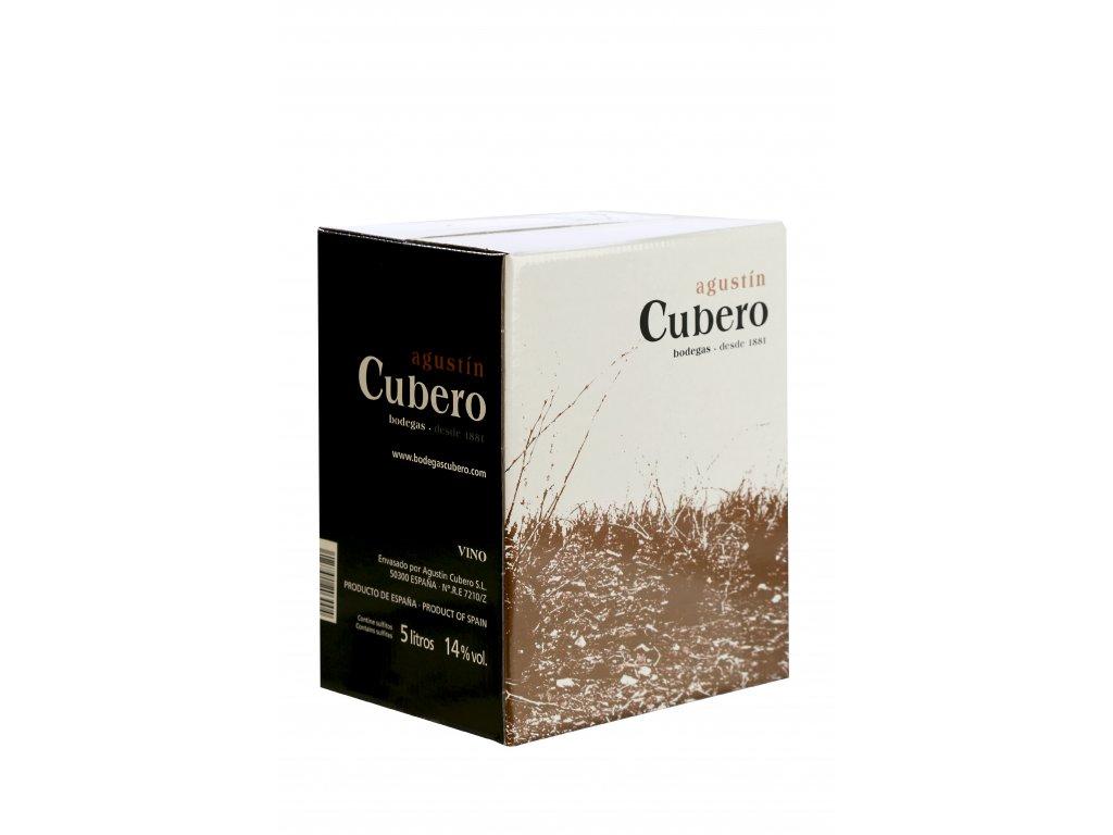 Bodegas Augustín Cubero bag-in-box, červené víno 5l