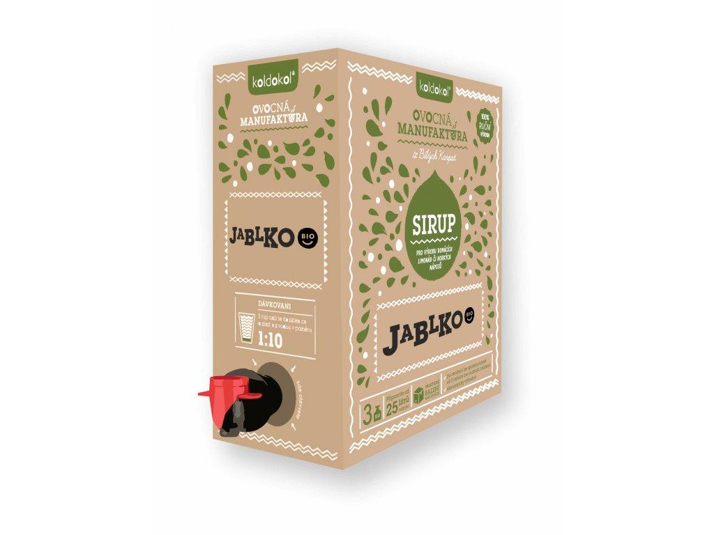 Koldokol sirup JABLKO BIO bag-in-box 3kg